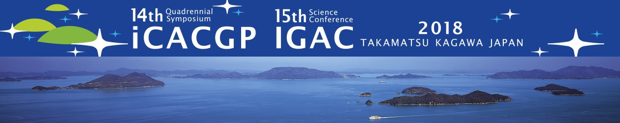 2018 joint 14th iCACGP Quadrennial Symposium/15th IGAC Science Conference