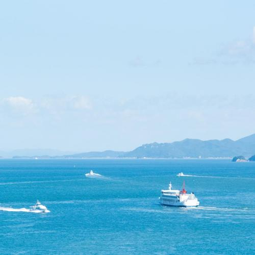 Ferry to Shodoshima